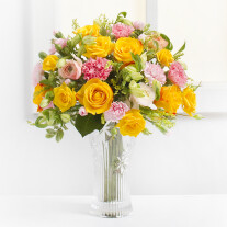 Delicate Bouquet in Yellow Colors