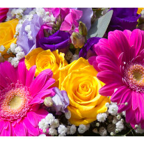 Florist's choice summer bouquet